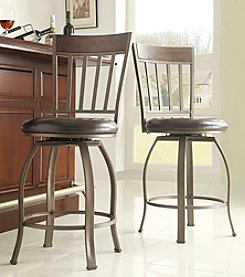 Home Interior Set of 2 Crestwell Swivel Barstool