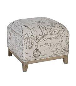 Uttermost Amrit Cube Ottoman