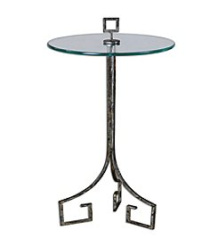 Uttermost Grecia Iron Accent Table