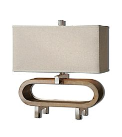 Uttermost Medea Wood Accent Lamp