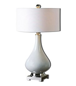 Uttermost Helton White Table Lamp
