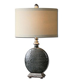 Uttermost Salinger Gray Ceramic Table Lamp