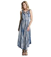 DKNY JEANS® Tie Dye Maxi Dress