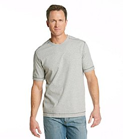 Tommy Bahama® Men's Light Grey Heather 'Island Cohen' V-Neck Tee