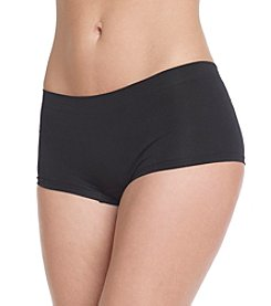 B intimates Black Seamless Boyshorts