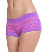B intimates Purple Coral Seamless Boyshorts