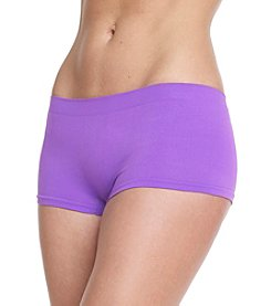 B intimates Purple Seamless Boyshorts