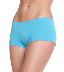 B intimates Blue Seamless Boyshorts