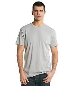 Calvin Klein Men's Concrete Short Sleeve Liquid Cotton Crewneck Tee
