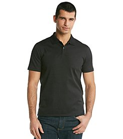 Calvin Klein Men's Black Short Sleeve Liquid Polo