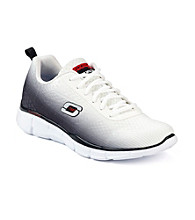 "Skechers® Men's ""This Way"" Athletic Shoes - White/Black"