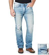 Bufflo by David Bitton Men's Indigo Blue 'Lucas' Driven Basic Jeans