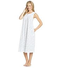 Aria® Sleeveless Knit Ballet Gown - Blue/White Scroll