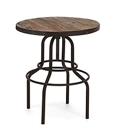 Zuo Era Distressed Twin Peaks Counter Table