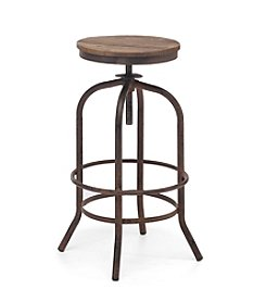 Zuo Era Distressed Twin Peaks Barstool