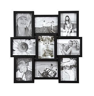 "Malden 9-Opening 5""x7"" Black Collage"