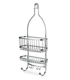 InterDesign® York Lyra Silver Shower Caddy