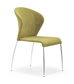 Zuo Modern Set of 2 Oulu Fabric Chairs
