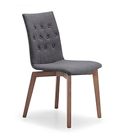 Zuo Modern Set of 2 Fabric Orebro Chairs