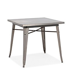 Zuo Modern Gunmetal Olympia Dining Table