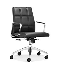 Zuo Modern Controller Low Back Office Chair