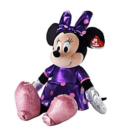 Ty® Purple Sparkle Minnie Mouse Beanie Buddy