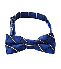Statements Boys' Blue Plaid Bowtie