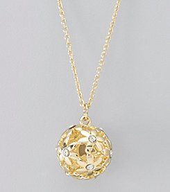 GUESS Goldtone Pendant Necklace