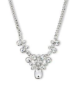 Givenchy® Silvertone Y Necklace