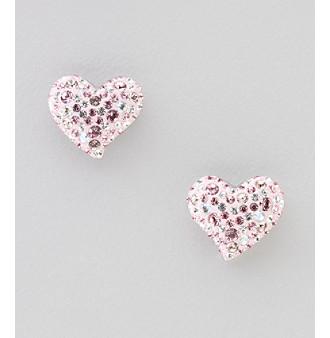 Upc 768549215926 Swarovski Crystal Heart Stud Earrings