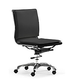 Zuo Modern Lider Plus Armless Office Chair