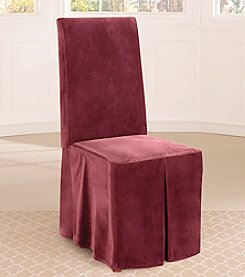 Sure Fit® Soft Touch Velvet Dining Room Chair Slipcover