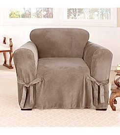 Sure Fit® Soft Touch Velvet 1-pc. Chair Slipcover