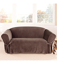 Sure Fit® Soft Touch Velvet 1-pc. Loveseat and Sofa Slipcover
