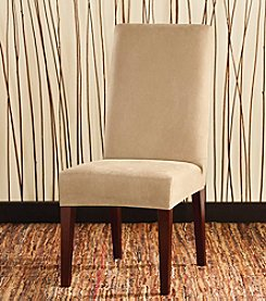 Sure Fit® Stretch Leather Dining Room Chair Slipcover