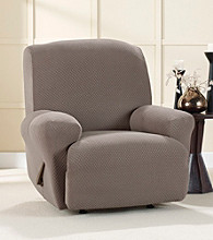 Sure Fit® Stretch Brixton Recliner Slipcover