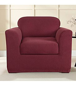 Sure Fit® Stretch Brixton 2-pc. Chair Slipcover
