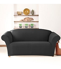 Sure Fit® Stretch Cavalry Twill 1-pc. Loveseat and Sofa Slipcover