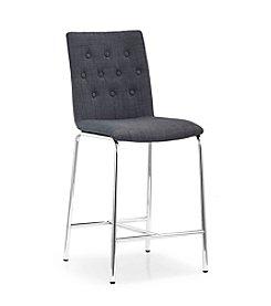 Zuo Modern Set of 2 Uppsala Fabric Counter Chairs