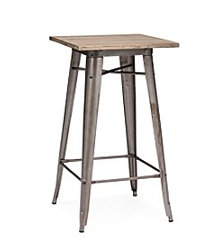 Zuo Modern Rustic Wood Titus Bar Table