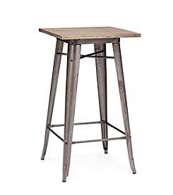 Zuo Modern Rustic Wood Titus Bar Table