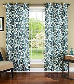 m.style™ Ikat Plume Window Panels