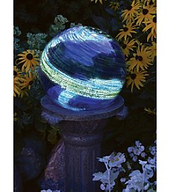Echo Valley® Blue Swirl Illuminarie Gazing Globe