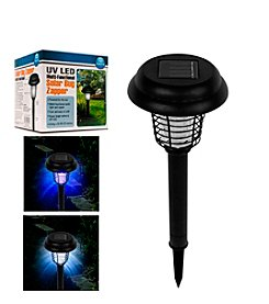 Pure Garden LED and UV Light Solar Bug Zapper