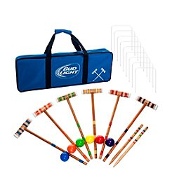 Trademark Games™ Bud Light 24-pc. 6-Player Croquet Set