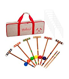 Trademark Games™ Budweiser 24-pc. 6-Player Croquet Set