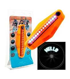 Trademark Games™ Set of Two LED Bike Spoke Message Light