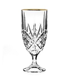 Godinger® Dublin Set of 4 Gold Banded Iced Beverage Glasses
