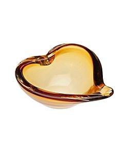 Godinger® Amber Heart Dish
