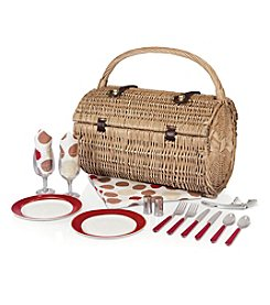 Picnic Time® Barrel Moka Picnic Basket